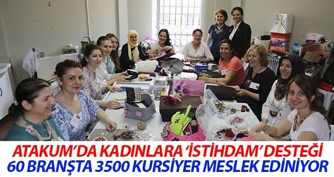 Atakum'da kadınlara 'İSTİHDAM' desteği