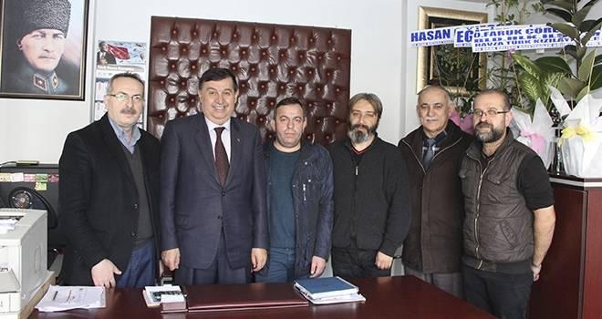 Başkan İkiz Yerel Gazeteleri Ziyaret Etti