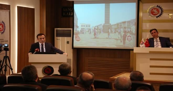 Başkan Genç: Belediye Başkanı proje üretmelidir
