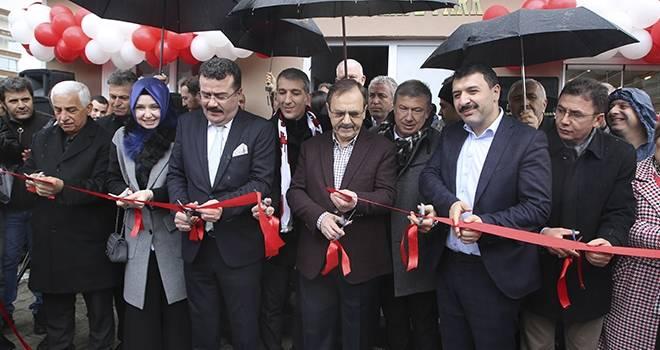 Atakum'da toplu açılış… 3 proje birden hizmete açıldı