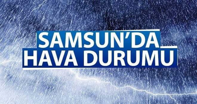 3 Ağustos Samsun'da Hava Durumu