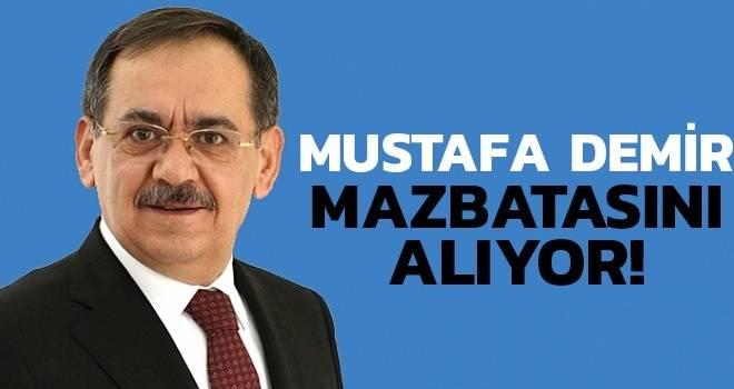 Mustafa Demir Mazbatasını Alıyor..!