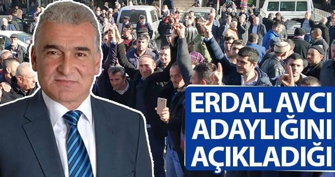 Erdal Avcı Ayvacık Belediye Başkan Adaylığını açıkladı