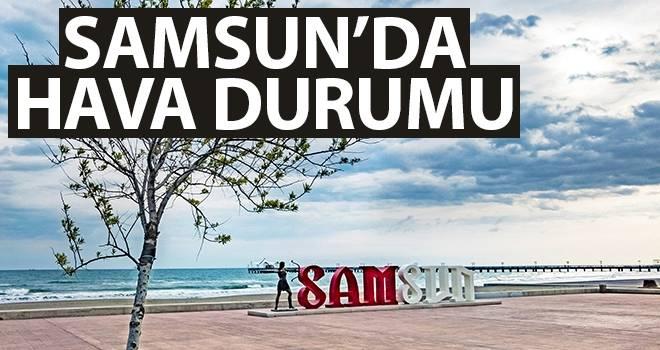 24 Eylül Samsun'da Hava Durumu