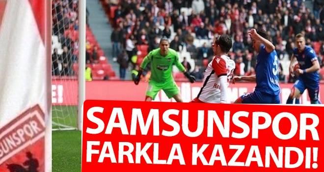 Samsunspor Farkla Kazandı!