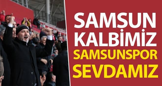 Başkan Karaduman: Samsun kalbimiz,Samsunspor sevdamız