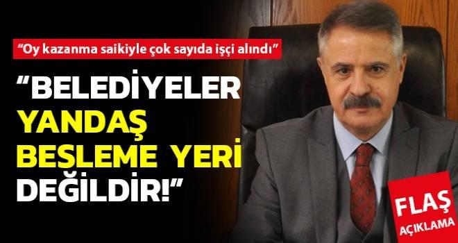 Atakum Belediye Başkanı Cemil Deveci'den Flaş Açıklama..!