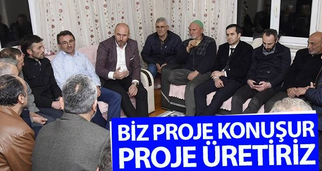 Başkan Togar: Biz Proje Konuşur Proje Üretiriz