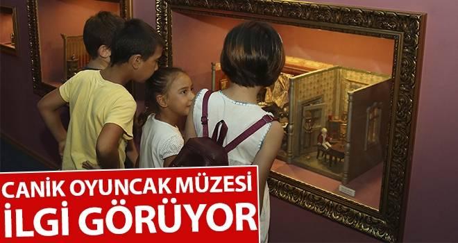 Canik Oyuncak Müzesi ilgi görüyor