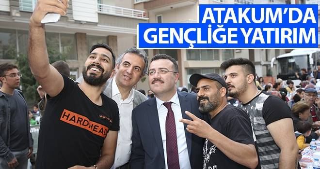 Atakum'da gençliğe yatırım