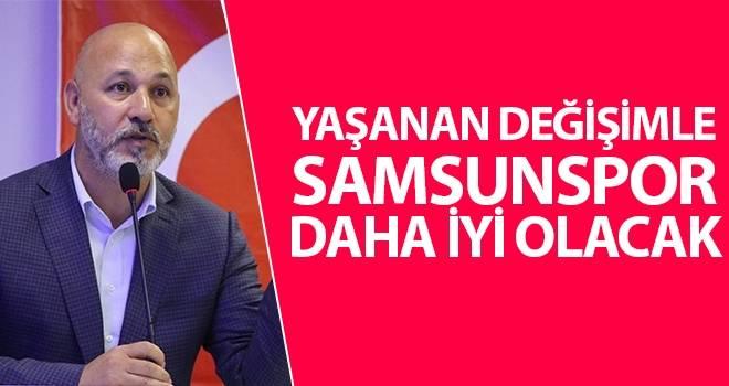Başkan Karaduman'dan Samsunspor açıklaması