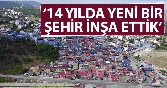 Başkan Genç: 14 yılda yeni bir şehir inşa ettik