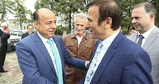 Canik'te Başkan-Kaymakam istişarede