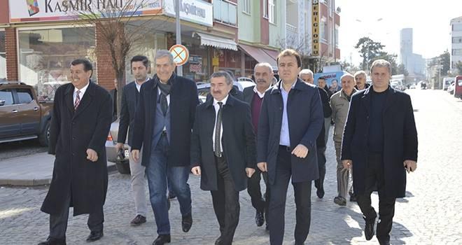 Ahmet Demircan'dan Havza Ziyareti