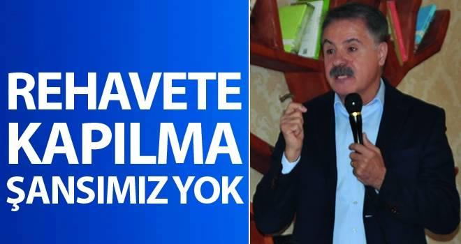 Cemil Deveci: Rehavete Kapılma Şansımız Yok