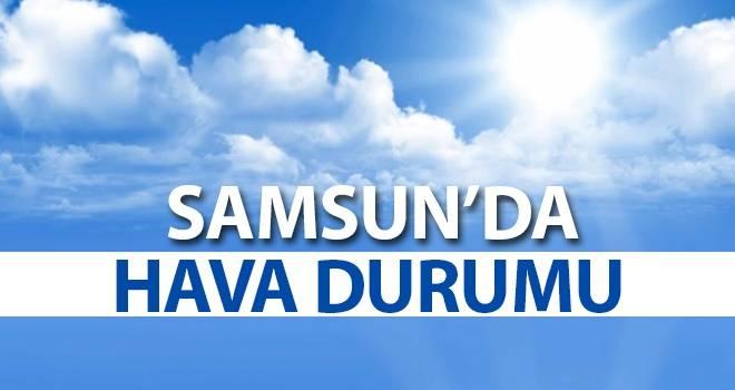 11 Temmuz Samsun'da Hava Durumu