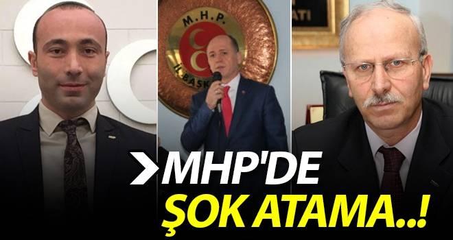 MHP'de Şok Atama..!