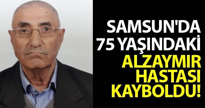 Samsun'da 75 yaşındaki Alzaymır hastası kayboldu.!