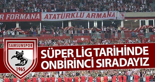 Süper Lig Tarihinde Onbirinci Sıradayız