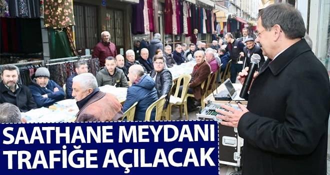 Mustafa Demir: Saathane Meydanı trafiğe açılacak