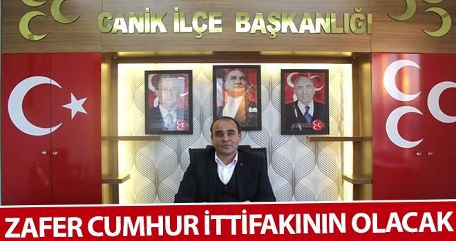 Ahmet Aydın: Zafer Cumhur İttifakının Olacak