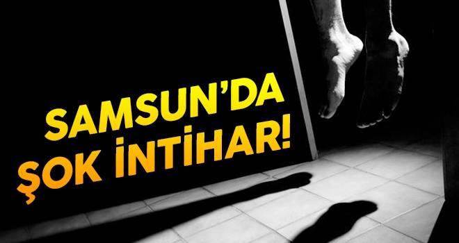 Samsun'da Şok İntihar..!