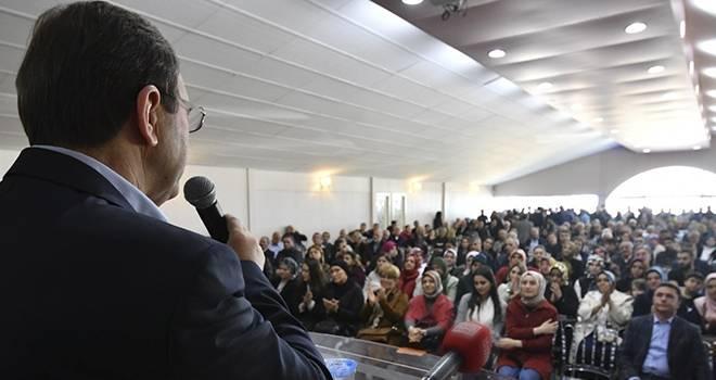 Başkan Şahin Atakum'da Sandık Görevlilerine Seslendi