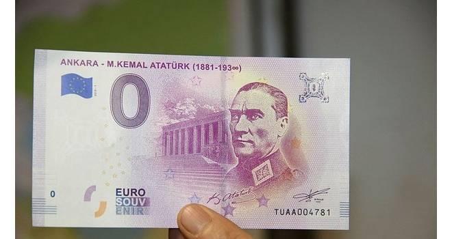 Atatürk portreli Euro basıldı! İşte o özel seri...