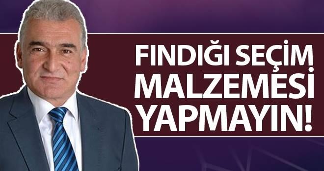 BBP Ayvacık Belediye Başkanı Adayı Erdal Avcı: Fındığı Seçim Malzemesi Yapmayın!