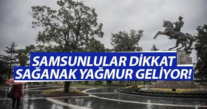 13 Eylül Samsun'da Hava Durumu
