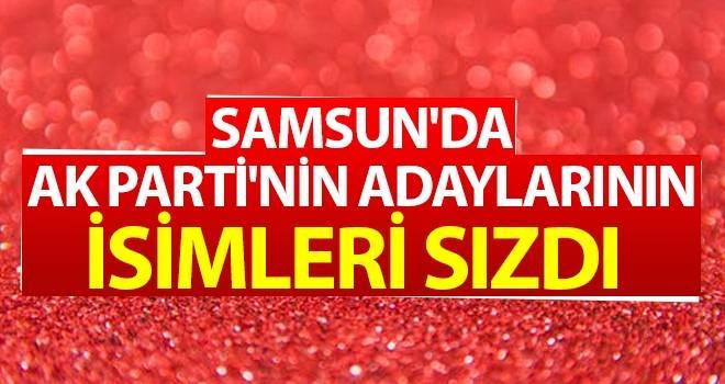 Samsun'da AK Parti'nin Adaylarının İsimleri Sızdı