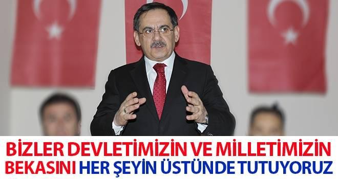 Mustafa Demir: Bizler devletimizin ve milletimizin bekasını her şeyin üstünde tutuyoruz