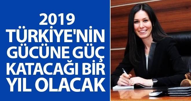 Karaaslan: 2019, Türkiye'nin Gücüne Güç Katacağı Bir Yıl Olacak