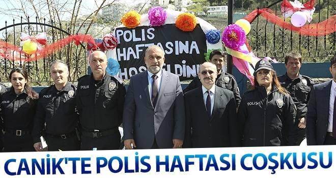 Canik'te Polis Haftası coşkusu