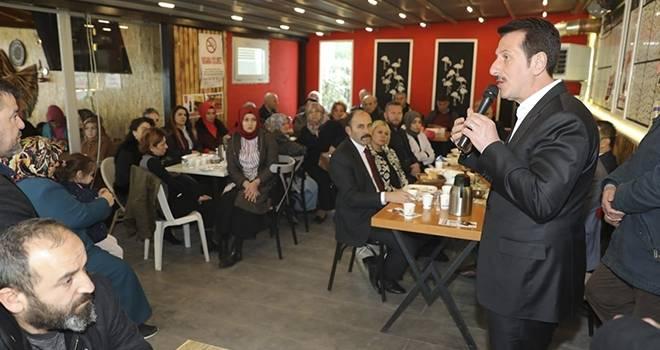 Milletvekili Köktaş ve Başkan Tok Derebahçelilerle Buluştu