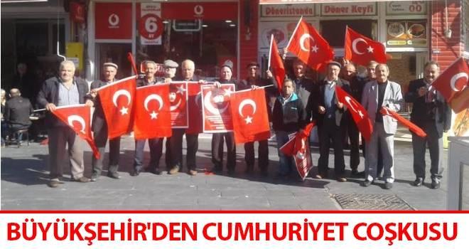 Büyükşehir'den Cumhuriyet Coşkusu