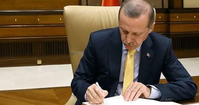 Başkan Erdoğan'dan 6 üst düzey atama