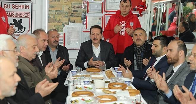 Başkan Tok: Hepimizin Ortak Paydası Samsunspor