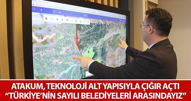 """Atakum, teknoloji alt yapısıyla çığır açtı """"Türkiye'nin sayılı belediyeleri arasındayız"""""""