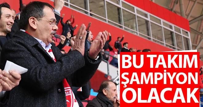 Mustafa Demir: Bu takım şampiyon olacak