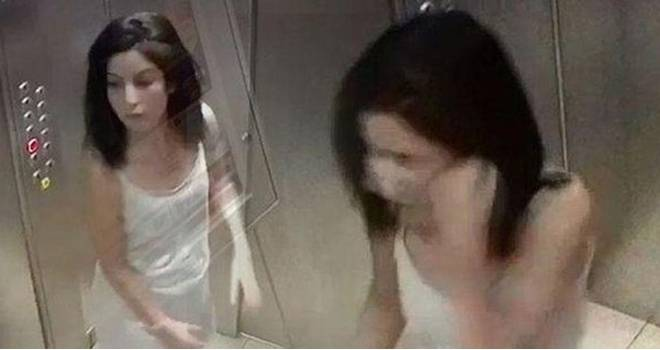 Kocasına 'Bak sana neler yapacağım' dedi, asansörde geceliğiyle...