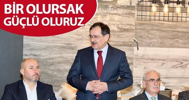 Mustafa Demir: Bir olursak güçlü oluruz