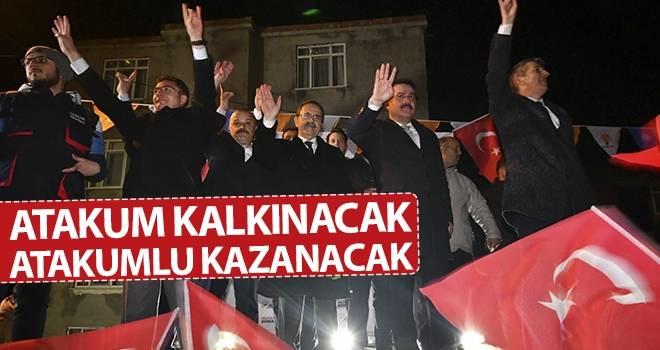 Başkan Şahin: Atakum Kalkınacak, Atakumlu Kazanacak