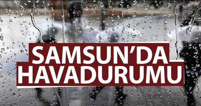 10 Ağustos Samsun'da Hava Durumu