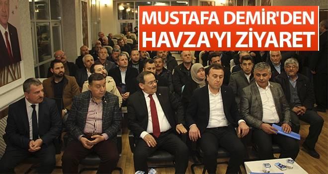 Mustafa Demir'den Havza'yı Ziyaret
