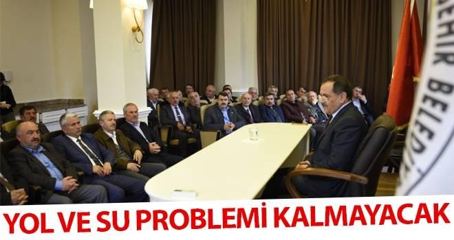 Başkan Demir: Yol ve Su Problemi Kalmayacak