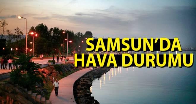 11 Ekim Samsun'da Hava Durumu