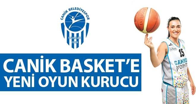 Canik Basket'e yeni oyun kurucu