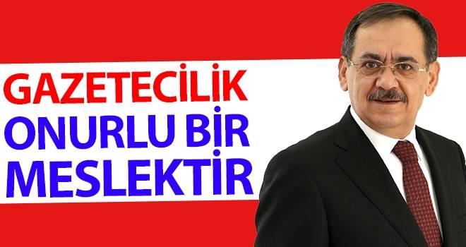 Mustafa Demir: ''Gazetecilik onurlu bir meslektir''