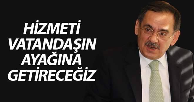 Mustafa Demir: Hizmeti vatandaşın ayağına getireceğiz